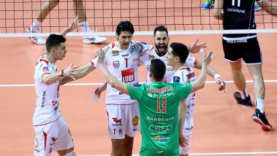 Volley, Champions: Civitanova raggiunge Trento, due italiane alla Final Four