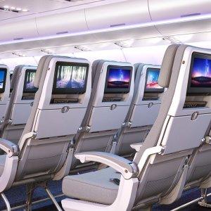 Airbus cambia il look ai suoi aerei: dalle luci alle poltrone, ecco i nuovi salotti volanti