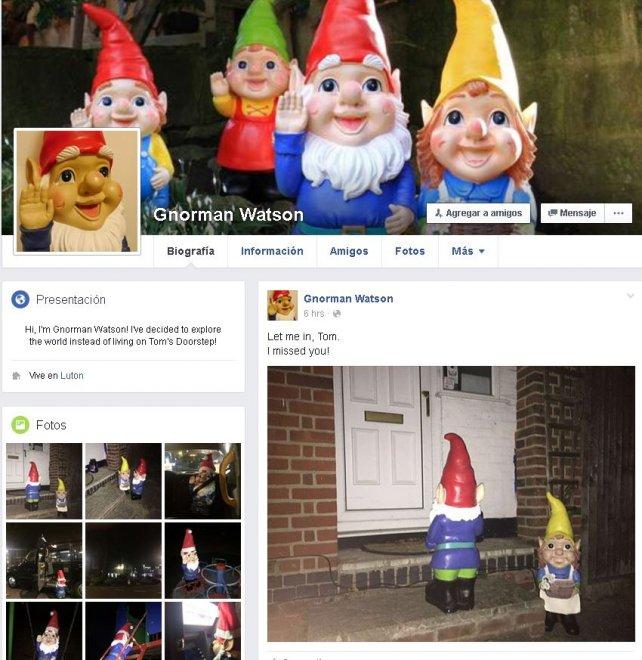 Gb, un profilo Facebook per lo gnomo rubato: il ladro si burla del proprietario