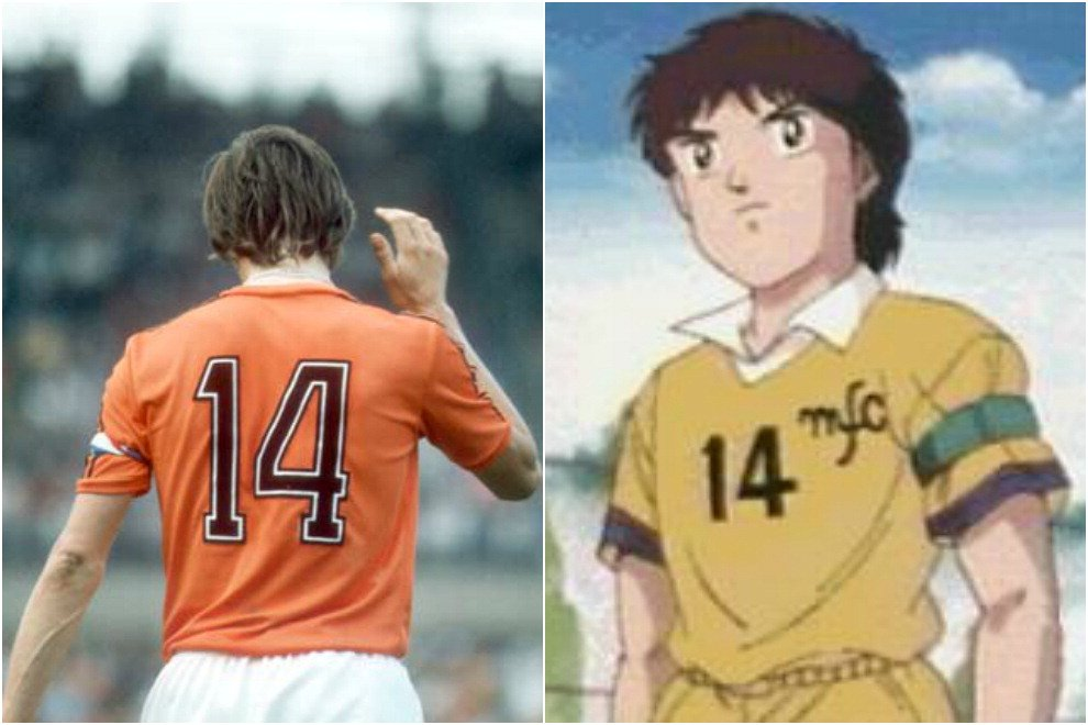 "Morte Johan Cruyff, l'olandese ispirò il cartoon ""Holly e Benji"""