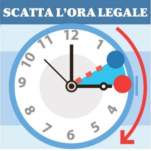 Torna l'ora legale, sabato notte lancette avanti di 60 minuti