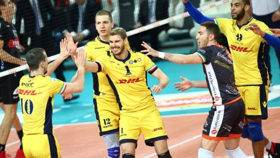 Volley, play-off Superlega: Modena, Trento e Perugia a un passo dalle semifinali