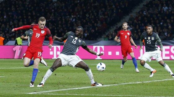 L'Inghilterra batte in rimonta la Germania: e Vardy colpisce ancora