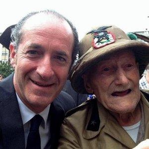 """Alpini, morto a 102 anni Cristiano Dal Pozzo """"il vecio"""""""