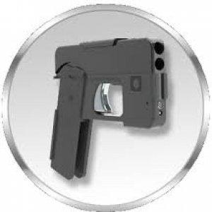 Una pistola a forma di smartphone presto in vendita negli Usa
