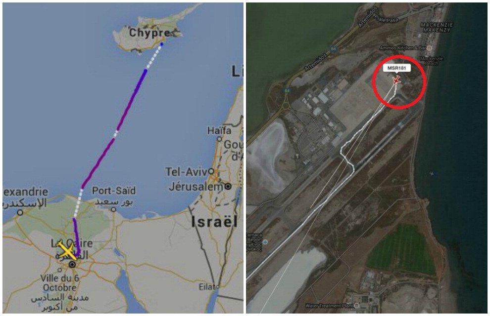 """Aereo Egypt Air dirottato a Cipro: """"Non è terrorismo"""""""