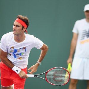 Tennis, Internazionali d'Italia: anche Federer a Roma, in campo tutti i big