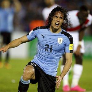 Mondiali 2018: Cavani porta in vetta l'Uruguay, Messi fa 50 gol in nazionale, Brasile rischia ko