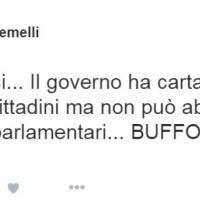 Caso Guidi, quando il fidanzato Gianluca Gemelli twittava contro la casta