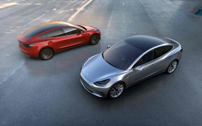 La presentazione  della Tesla Model 3