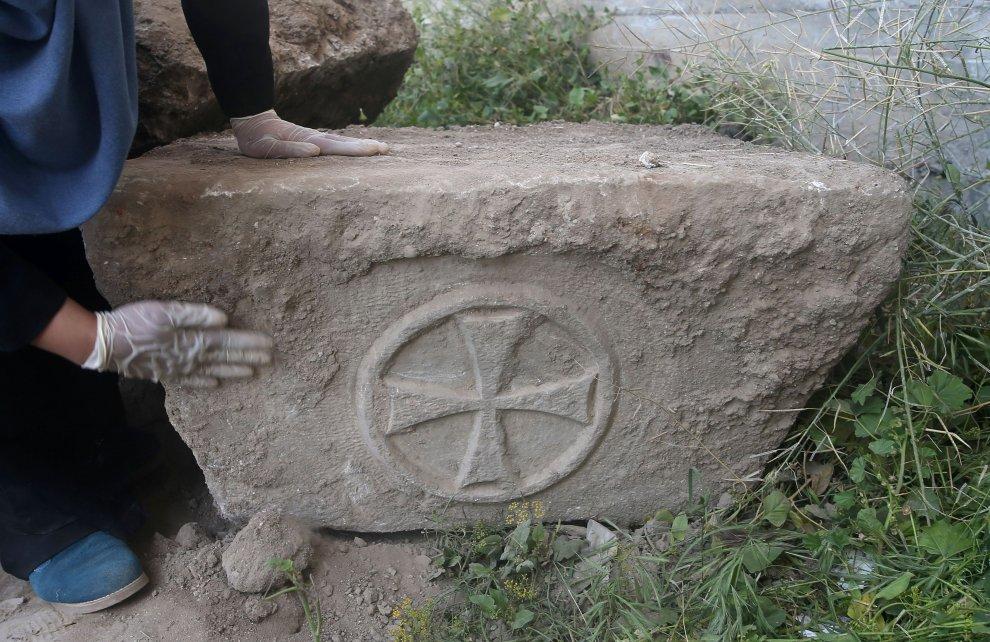 Gaza, scoperta chiesa bizantina di 1500 anni fa: gli scavi in centro città