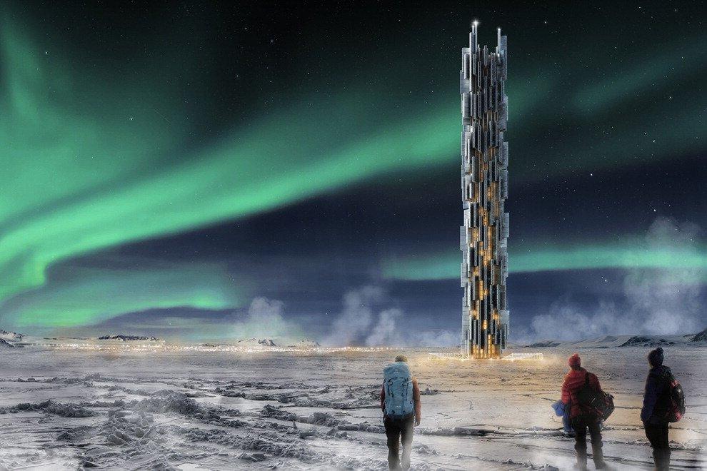 Un grattacielo di server, il data center del futuro