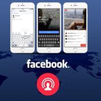 Facebook Live potenzia le dirette streaming e sfida Periscope di Twitter