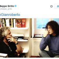Da Grillo a Fedez, l'addio a Casaleggio sui social