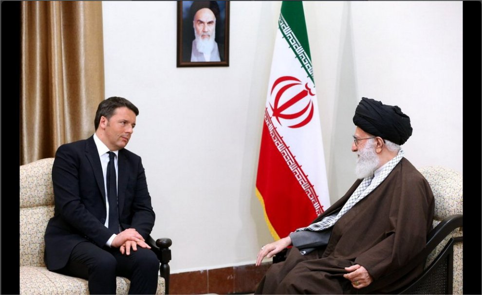 Iran, Renzi a colloquio con Rohani e Khamenei