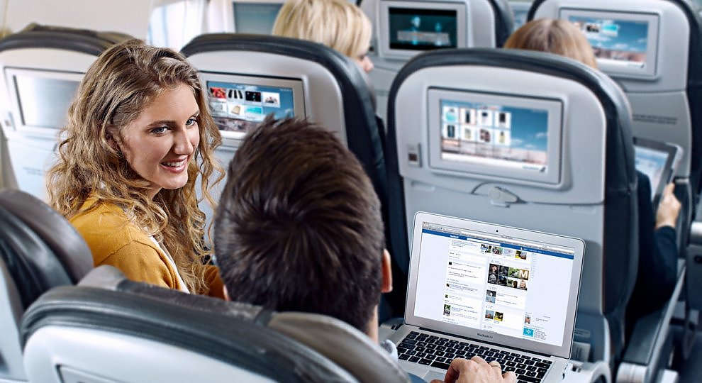 Wi-Fi in aereo: chi vince -   ft