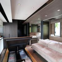 Hong Kong, l'incastro perfetto in 28 mq: nella casa ci sono tutti i comfort