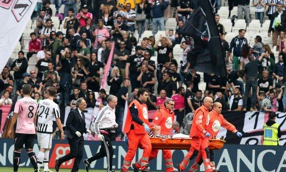 Juventus-Palermo 4-0: poker che sa di scudetto. Marchisio si fa male, addio Europei