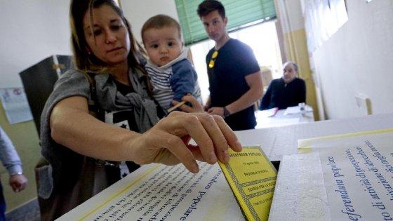 Referendum trivelle, la mappa del non voto