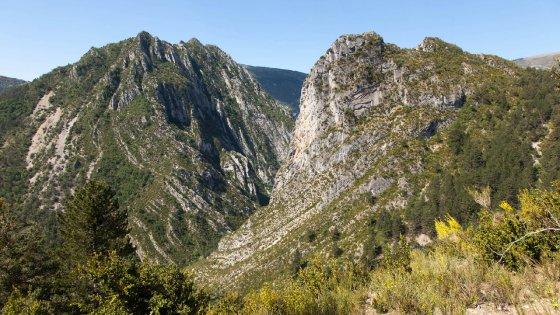Trekking alla scoperta dei canyon dell'Alta Provenza