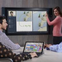 Microsoft Surface Hub, così la videoconferenza è più facile