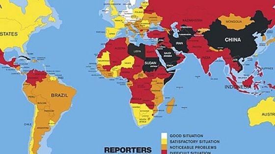 Libertà di stampa, Italia peggio della Moldova. Troppe minacce e processi ai giornalisti