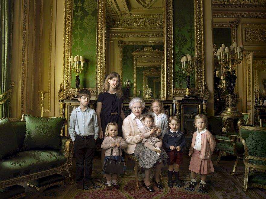Nonna Elisabetta e i sette principini: tre scatti di Annie Leibovitz