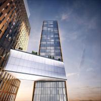 New York, il ponte tra i grattacieli 'piegati': piscina e vista mozzafiato nel cuore di Manhattan