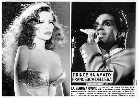 """Dellera: """"Prince, corteggiatore romantico. Affittò una sala per vedere 'La carne'"""""""