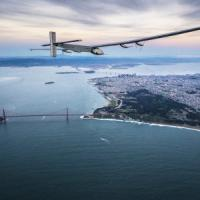 Solar Impulse 2, l'aereo a energia solare atterrato in California