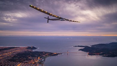 Solar Impulse 2 sorvola il Pacifico la nuova tappa in California /   foto   -   video