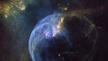La gigantesca Bolla blu nebulosa spettacolare