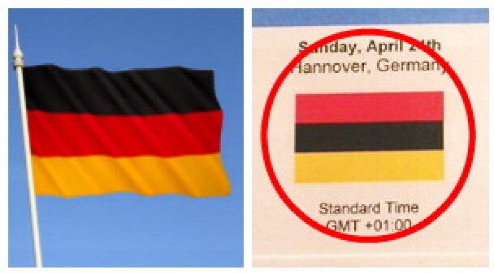 Obama ad Hannover, gaffe del protocollo: americani sbagliano bandiera tedesca