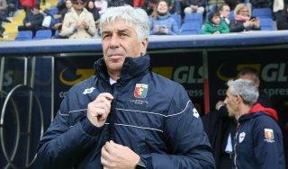 Genoa, Gasperini: ''Il mio futuro? Chiedete al club''
