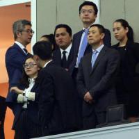 I cinesi allo scoperto: ''Interessati a investire nell'Inter''