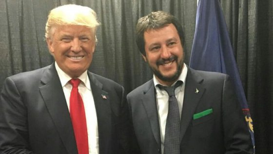 Usa, Salvini incontra Donald Trump a Philadelphia