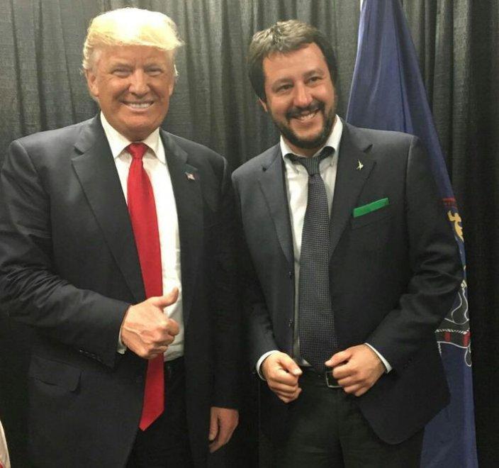 """Salvini su Trump: """"Lui è come me, non è razzista, lo aiuto con ..."""