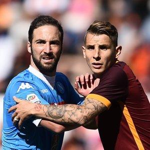 Napoli-Roma, che sfida per la Champions. Una volata che vale un tesoro