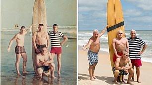 Usa, surf prima del Vietnam: i marine si rimettono in posa 50 anni dopo