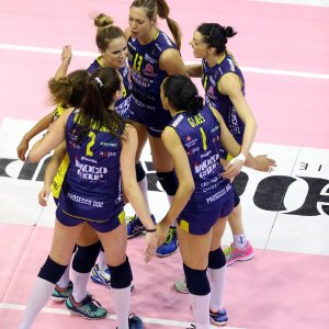 Volley donne, finale scudetto: Conegliano travolge Piacenza