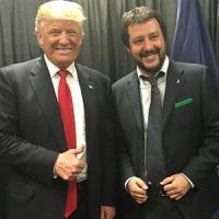 """Salvini su Trump: """"Lui è come me, non è razzista, lo aiuto con Putin"""""""