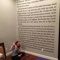 Passione infinita: così la scrittrice-fan trasforma parete di casa nella prima pagina di...