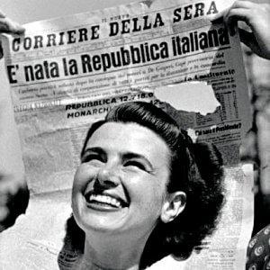 Foto simbolo della repubblica quando un volto diventa icona - Diva e donne giornale ...
