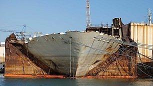 Costa Concordia, se ne vanno gli ultimi pezzi