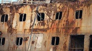 Quel che resta di Costa Concordia le ultime fasi della demolizione