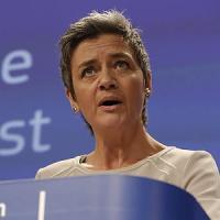 """Margrethe Vestager: """"Atlante, un modello per le banche italiane. Sull'inchiesta Google..."""