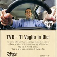 """TVB: """"Ti voglio bene, ti voglio in bici"""""""