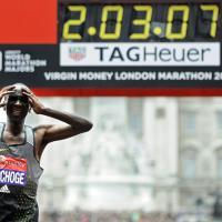 Maratona, Kipchoge dalla festa alla delusione