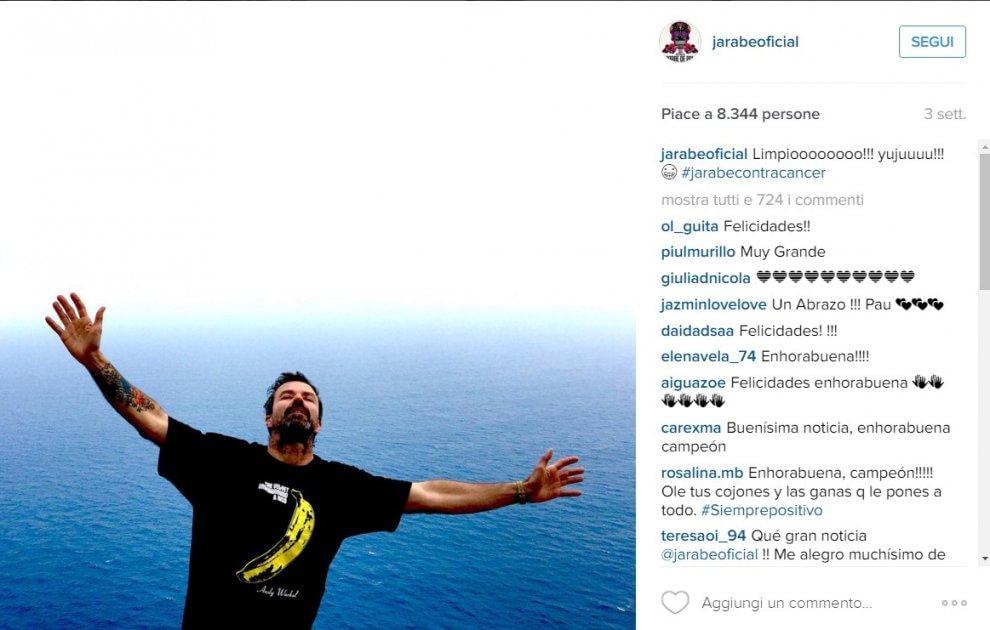"""Risultati immagini per JARABE DE PALO: """"È TORNATO IL TUMORE M"""