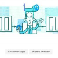 Claude Shannon, matematico giocoliere: il doodle di Google